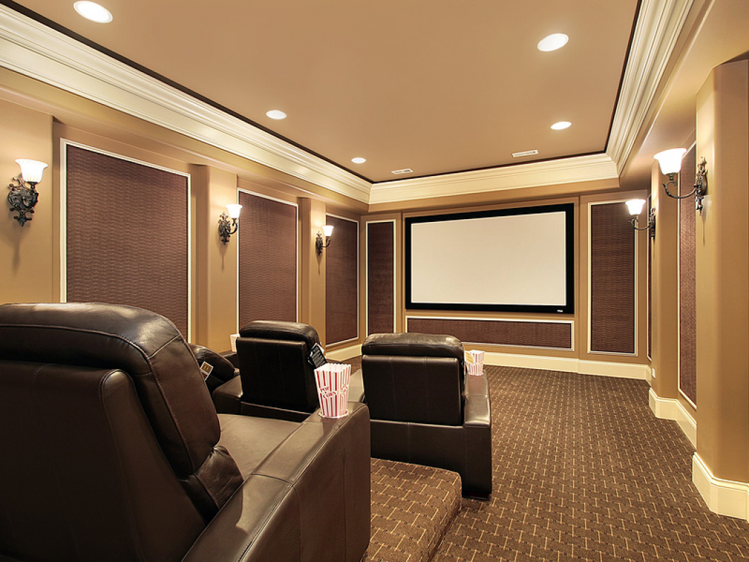 Residential Home Theater Custom Install